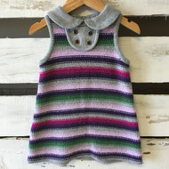 Janie & Jack Striped Sweater Dress
