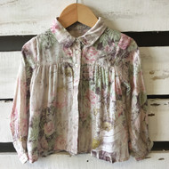 Burberry  Floral Blouse
