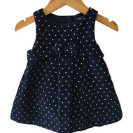 Baby Gap Corduroy Polka Dot Dress