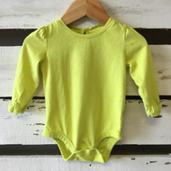 Baby Gap Lime Green Bodysuit