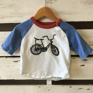 Baby Gap Bicycle Baseball T Shirt