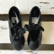Bloch 'TechnoTap' Black Patent Tap Shoes