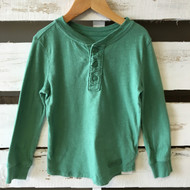 GapKids Green 3 Button Tee