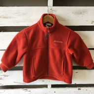 NWOT!  Columbia Orange Fleece Jacket
