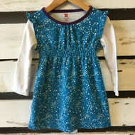 Tea Collection Turquoise Dot Dress