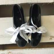 ABT Black Tap Shoes With White Ribbons