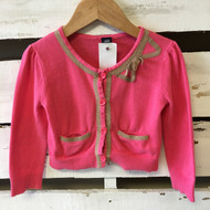 Baby Gap Pink & Tan Cardigan