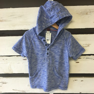 Tea Collection Weave Knit Hoodie Shirt