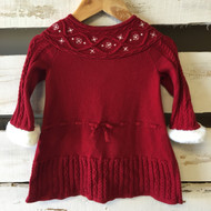Janie & Jack Red Holiday Sweater Dress