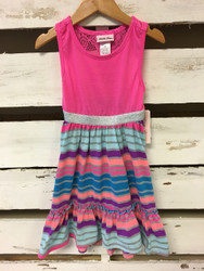 New! Little Lass Striped Dress
