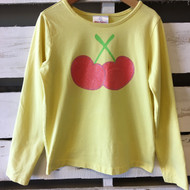 Hanna Andersson Yellow Cherry Top