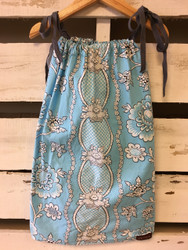 Laken & Lila Blue Paisley Pillow Case Dress