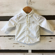 Taille O Ivory Button Up Shirt
