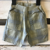 Charlie Rocket Plaid Twill Shorts