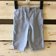 Ralph Lauren Blue Linen Pants