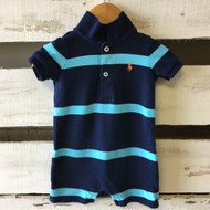 Ralph Lauren Navy Blue Shortall