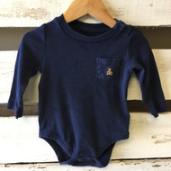 Baby Gap Navy Blue Bodysuit
