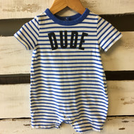 Baby Gap  Blue Stripe 'Dude' Shortall