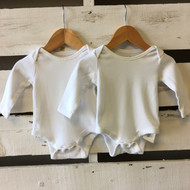 Baby Gap White Bodysuit 2 Pack.