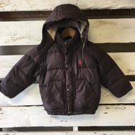 Ralph Lauren Brown Puffer Coat