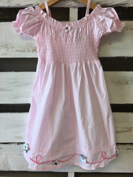 Jet Set Light Pink Summer Ruched Dress