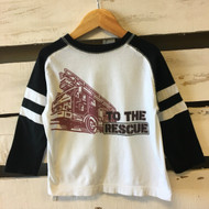 Gymboree 'To The Rescue' Firetruck Shirt