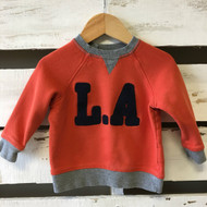 H&M Orange 'L.A.' Sweatshirt