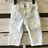 Baby Gap White Straight Jeans