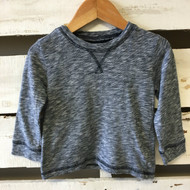 Tucker & Tate Navy & White Knit Top