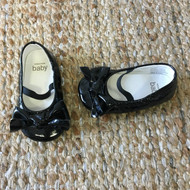 Baby Gap Black Patent Mary Jane Slippers