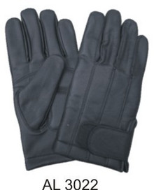Full finger lined gloves with large velcro closure