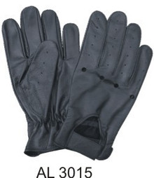 Driving gloves with Holes on the Knuckles & Velcro tab
