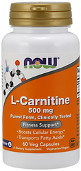 L-Carnitine 500 mg Now Foods