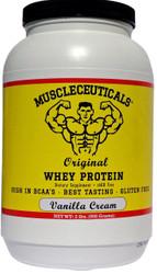 Muscleceuticals Original Whey Protein - Vanilla Cream
