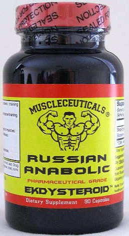 Muscleceuticals Russian Anabolic. Ecdysterones.