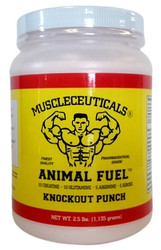 Muscleceuticals Animal Fuel. A Stimulant Free Pre, Intra and/or Post Workout Formula. Knockout Punch