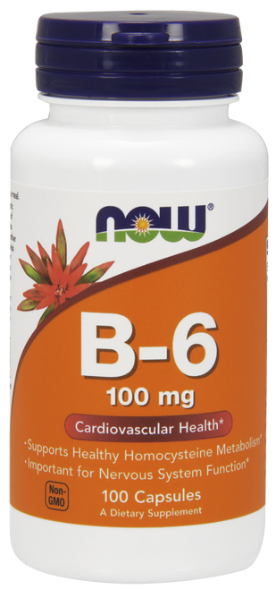 Vitamin B-6 by Now Foods