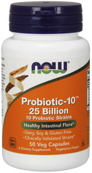 Probiotic-10 25 Billion by Now Foods