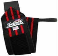 """Schiek 24"""" Black Line Wrist Wrap"""