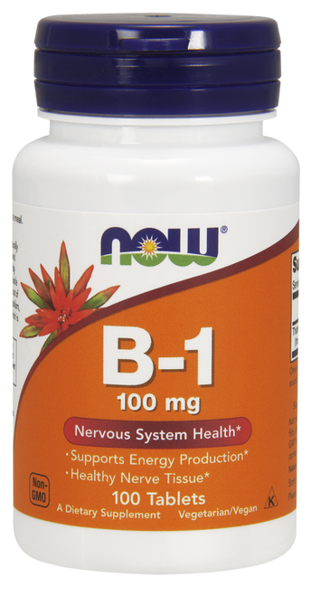 B-1, 100 mg by Now Foods