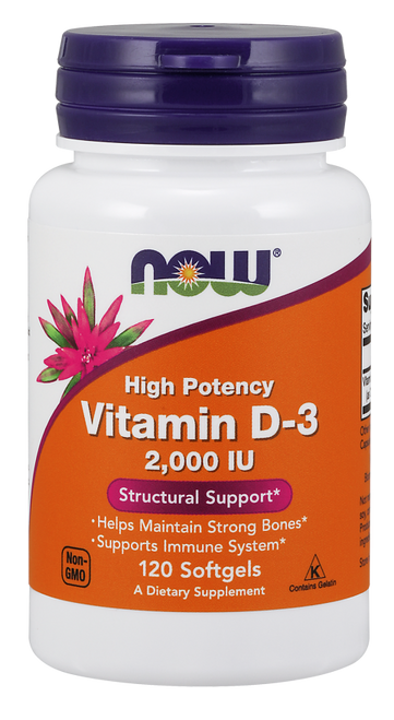 Vitamin D-3 2,000 IU