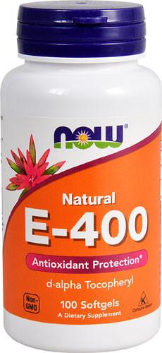Vitamin E-400 Now Foods