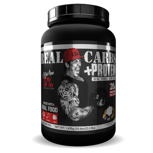 Real Carbs + Protein Rich Piana 5% Nutrition