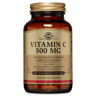 Vitamin C 500 mg 100 capsules by Solgar