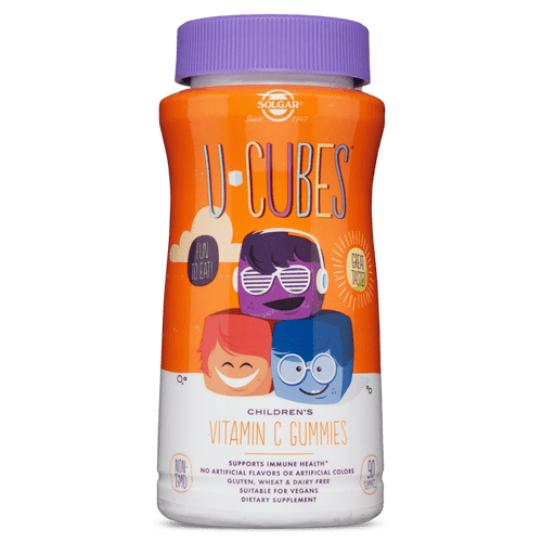 U-Cubes Children's Vitamin C Gummies by Solgar