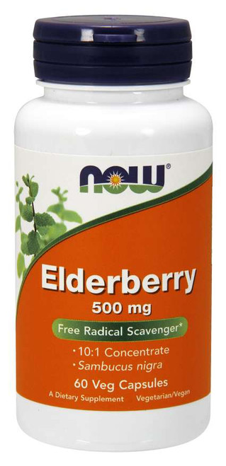 Elderberry 500 mg - Now Foods