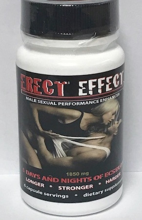Erect Effect 6 Count Bottle
