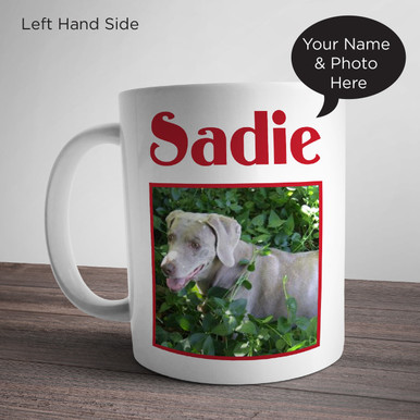 Personalize Mug with Photo and Name