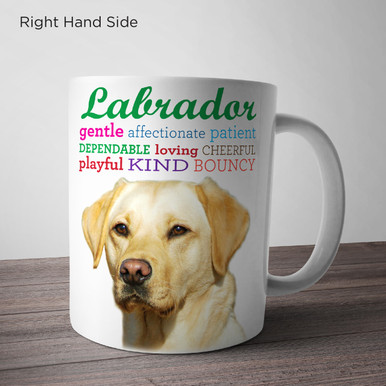 Labrador Traits Mug or Water Bottle