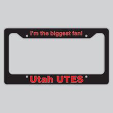 License Plate Frame Utah Utes